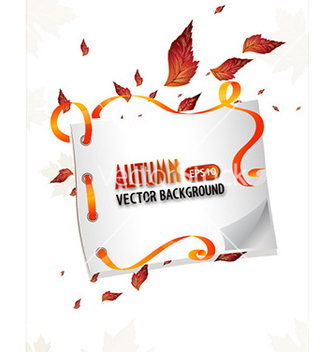 Free autumn background vector - Free vector #225129