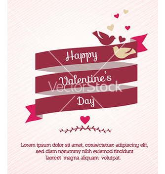Free happy valentines day vector - Free vector #225279