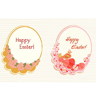 Free easter frames vector - Free vector #225299