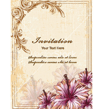 Free floral background vector - Kostenloses vector #225489