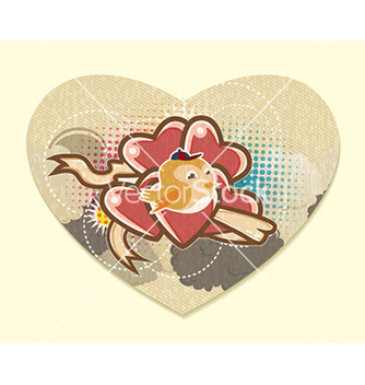 Free heart made of paper vector - Free vector #225589