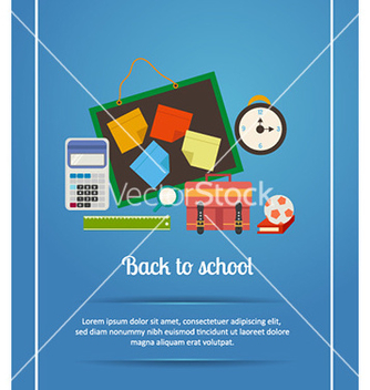 Free back to school vector - Kostenloses vector #225829