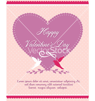 Free happy valentines day vector - Free vector #225899