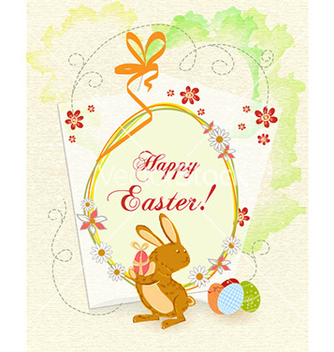 Free easter background vector - Free vector #226179