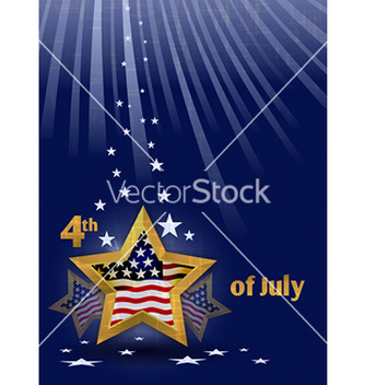 Free 4th of july background vector - Free vector #226809