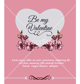 Free happy valentines day vector - vector #226839 gratis