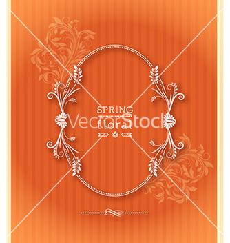 Free floral frame vector - Kostenloses vector #226959