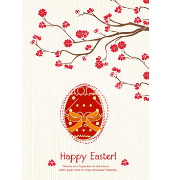 Free easter background vector - Kostenloses vector #227209