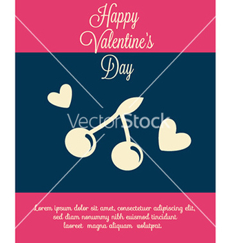 Free happy valentines day vector - vector #227249 gratis