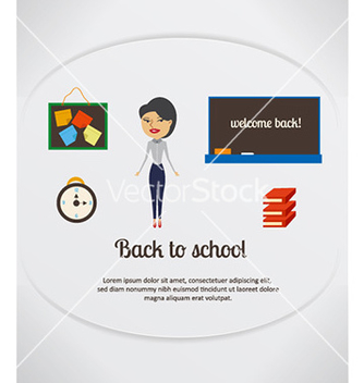 Free back to school vector - Kostenloses vector #227319