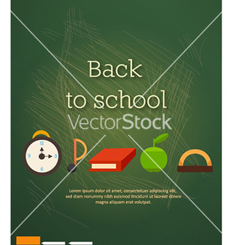 Free back to school vector - Kostenloses vector #227849