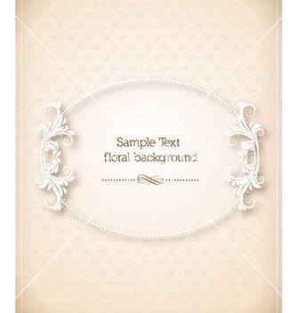 Free floral frame vector - Kostenloses vector #228109