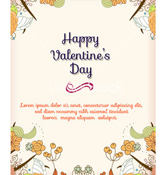 Free happy valentines day vector - Free vector #228249