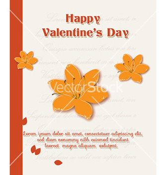 Free happy valentines day vector - Free vector #228609