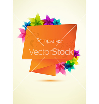 Free abstract banner vector - Free vector #229339