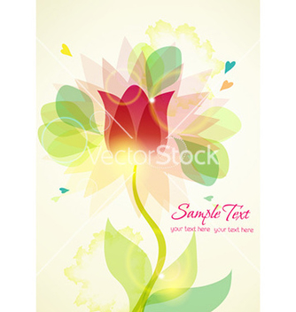 Free colorful abstract floral vector - Free vector #229759