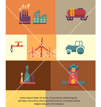 Free with industrial element vector - Free vector #230239