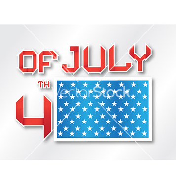 Free 4th of july background vector - vector #230259 gratis