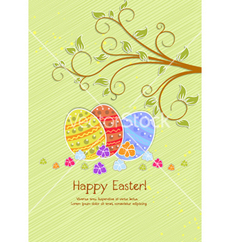 Free easter background vector - Kostenloses vector #230279