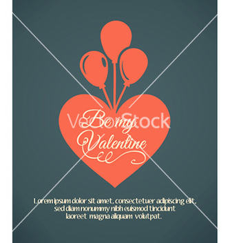 Free happy valentines day vector - Free vector #230339
