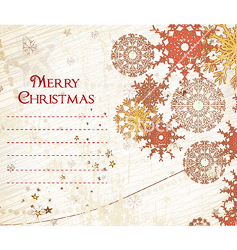 Free christmas card vector - Free vector #230509