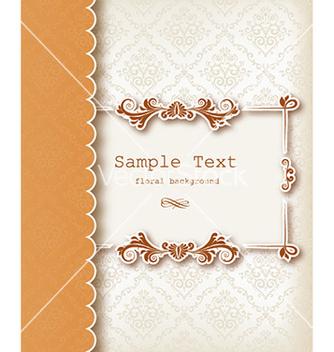 Free floral frame vector - Kostenloses vector #230819
