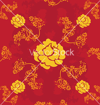 Free abstract floral background vector - Free vector #230829