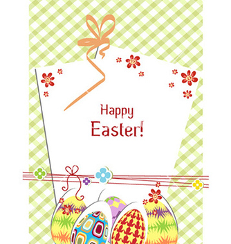Free easter background vector - Free vector #230899