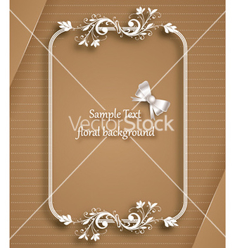 Free floral frame vector - Free vector #230959