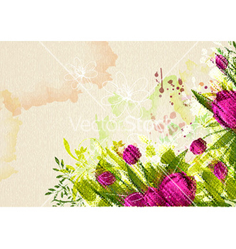 Free colorful floral vector - Free vector #231269