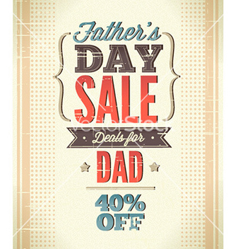 Free fathers day vector - Free vector #231429