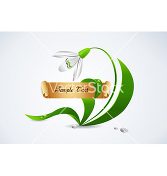 Free spring floral frame vector - Free vector #231669