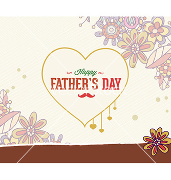 Free fathers day vector - Free vector #232049