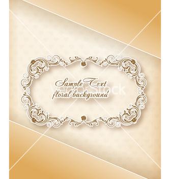 Free floral frame vector - Kostenloses vector #232189