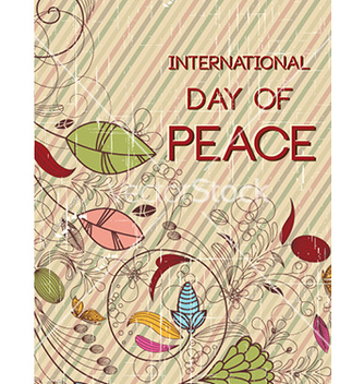 Free international day of peace vector - Free vector #232249