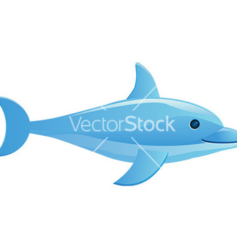 Free dolphin design vector - Free vector #232579
