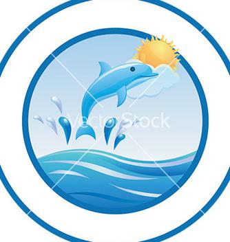 Free dolphin design vector - Free vector #232779