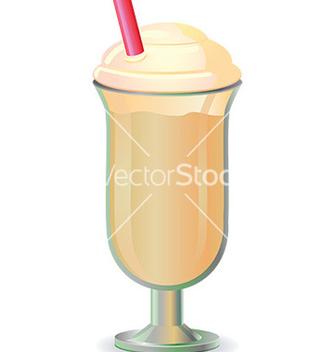Free milkshake design vector - vector gratuit #232919