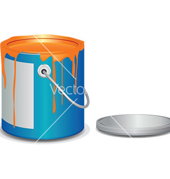 Free paint bucket vector - Free vector #232949