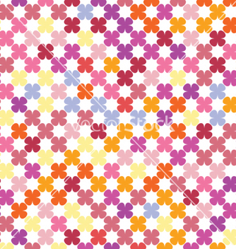 Free abstract flowers texture vector - Free vector #233029