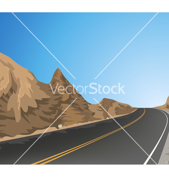 Free country road vector - vector gratuit #233219