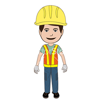 Free construction worker vector - бесплатный vector #233449