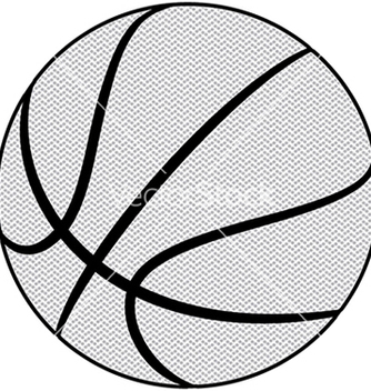 Free ball basketball sport isolated equipment game vector - Kostenloses vector #233459