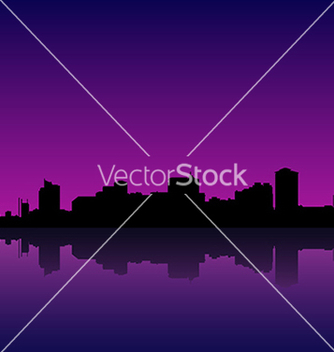 Free manila bay skyline manila cityscape vector - Free vector #233599