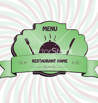 Free restaurant menu label brochure design element with vector - Free vector #233639