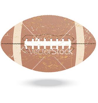 Free footballvintage vector - vector #233649 gratis