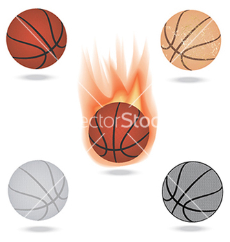 Free basketball vector - бесплатный vector #233689