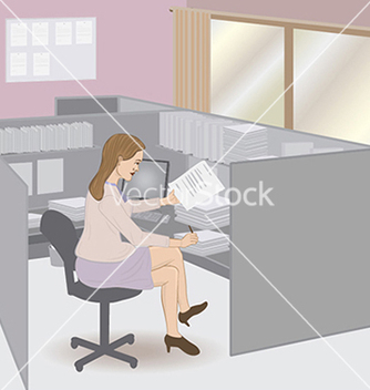 Free business woman vector - vector gratuit #233769