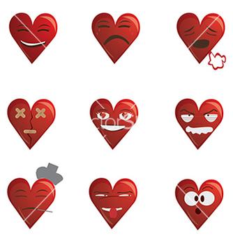 Free hearts vector - Kostenloses vector #233859