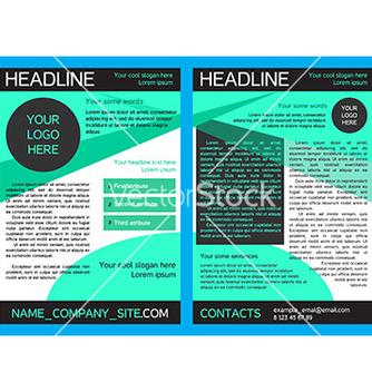 Free brochure design template in eps vector - Kostenloses vector #234329